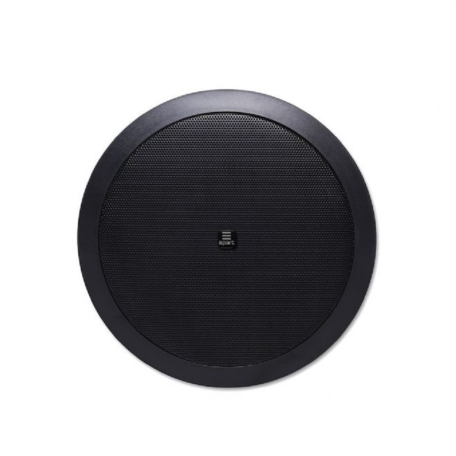 "APART CM6T 6.5"" Ceiling Speaker, Flush Mount, 6W, 70/100V, Black"
